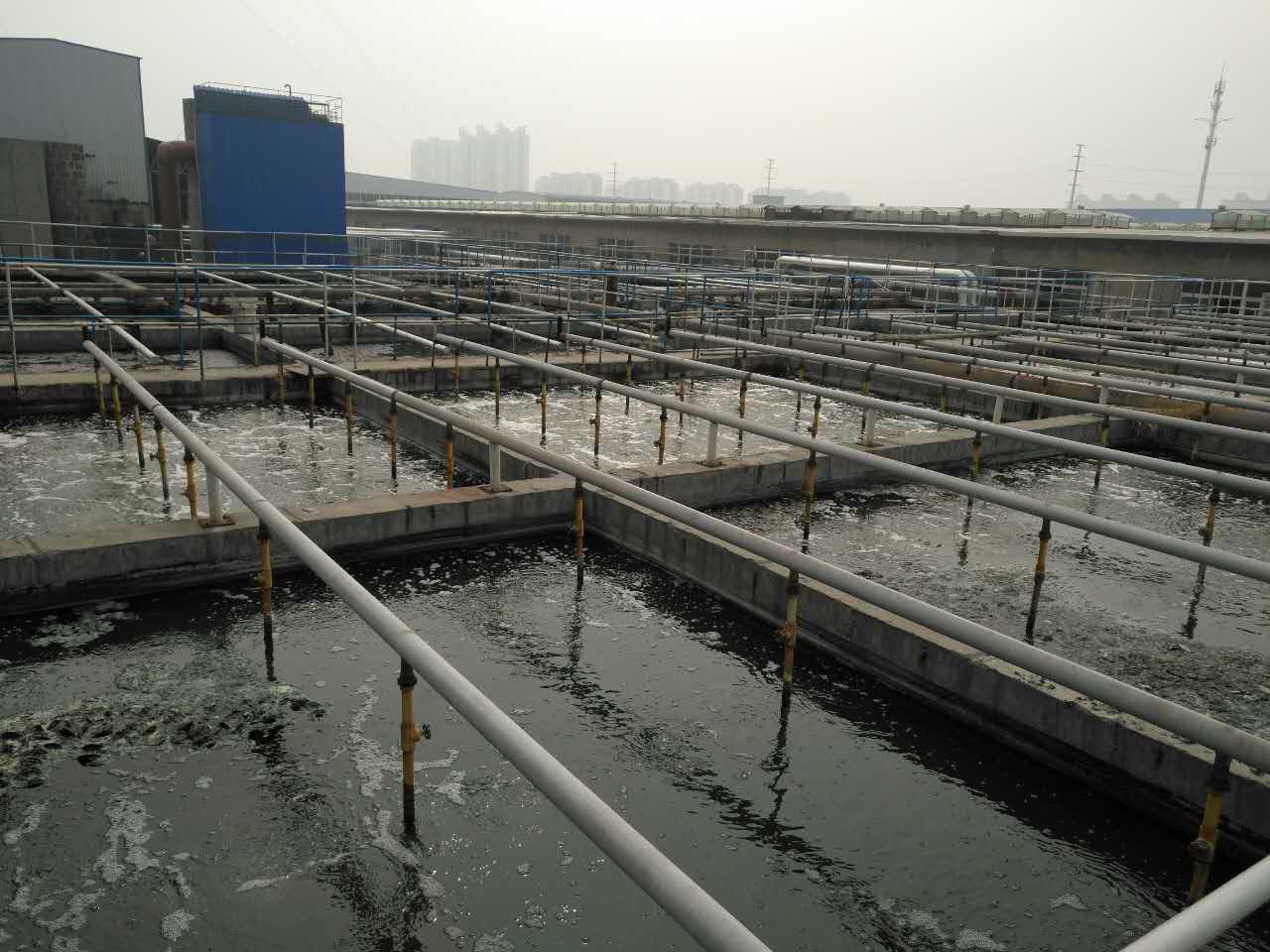 印染废水处理,处理规模3000m³/d