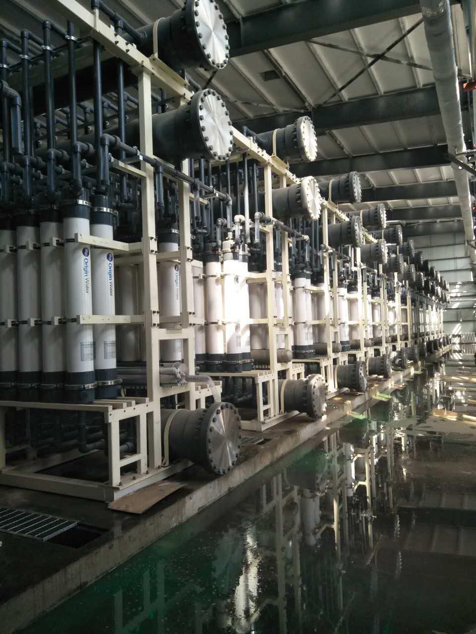 北京碧水源60万再生水运行项目2