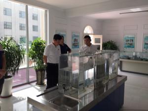 安钢集团总经理一行来公司参观