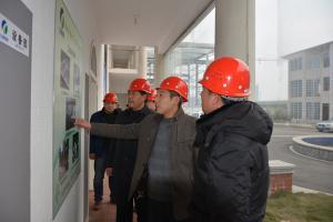 河南省黄泛区农场领导来我公司参观考察